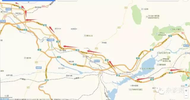 北京到崇礼滑雪 高速公路攻略
